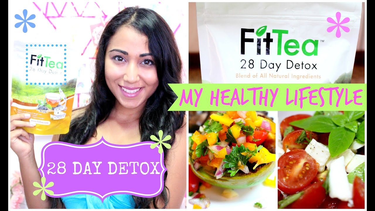 fit tea 28 day detox my healthy lifestyle youtube. Black Bedroom Furniture Sets. Home Design Ideas