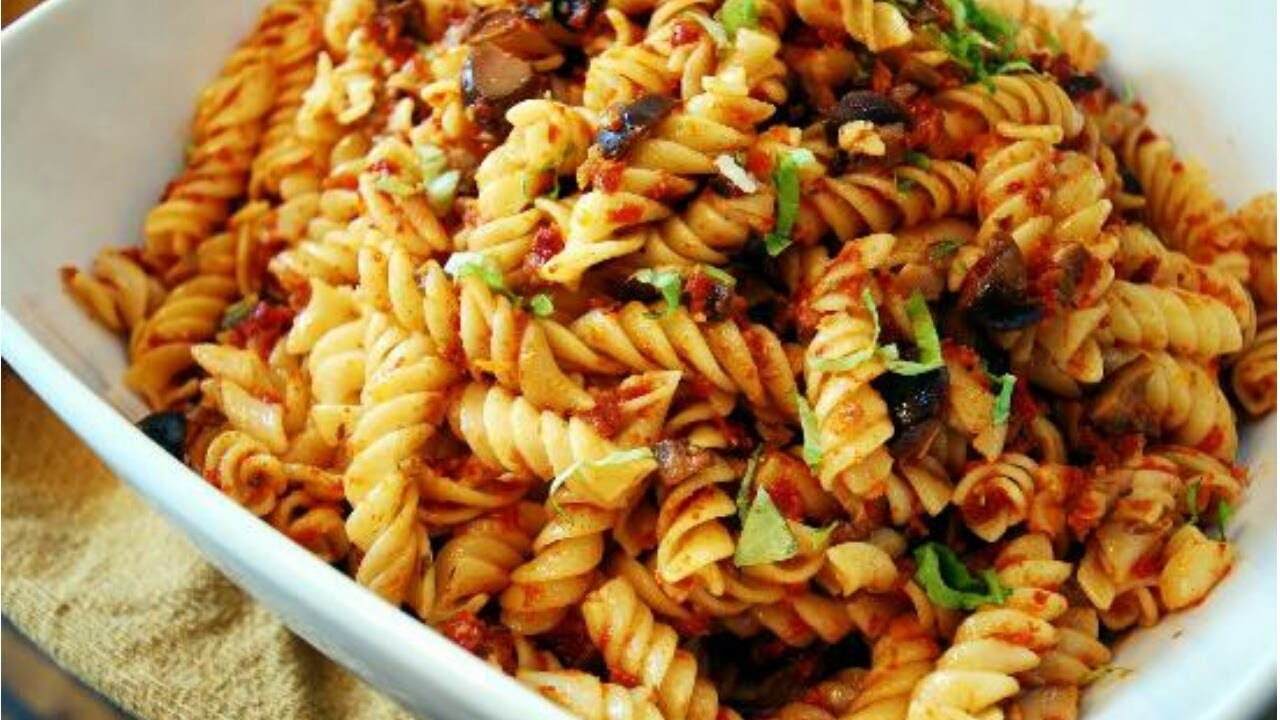 Indian Style Pasta Recipe