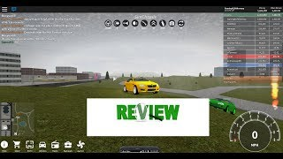 BMW M5 REVIEW - Fahrzeugsimulator Roblox