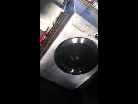 Lg washer smoking