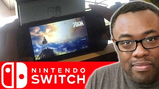 I PLAYED NINTENDO SWITCH - Hands On First Impressions Review #NintendoSwitch