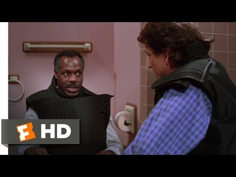 Toilet Bomb  Lethal Weapon 2 510 Movie CLIP 1989 HD