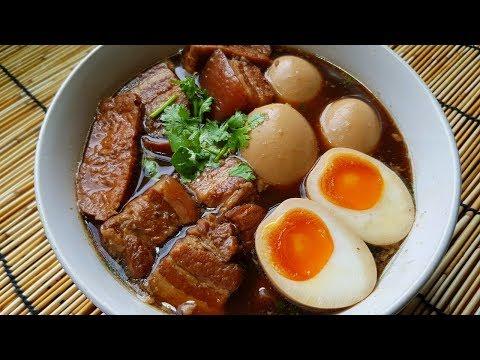 กับข้าวกับปลาโอ 467 : ไข่พะโล้โบราณ Kai Pla Loh สูตรไทยไม่ใส่เครื่องเทศ พิเศษไข่ยางมะตูม