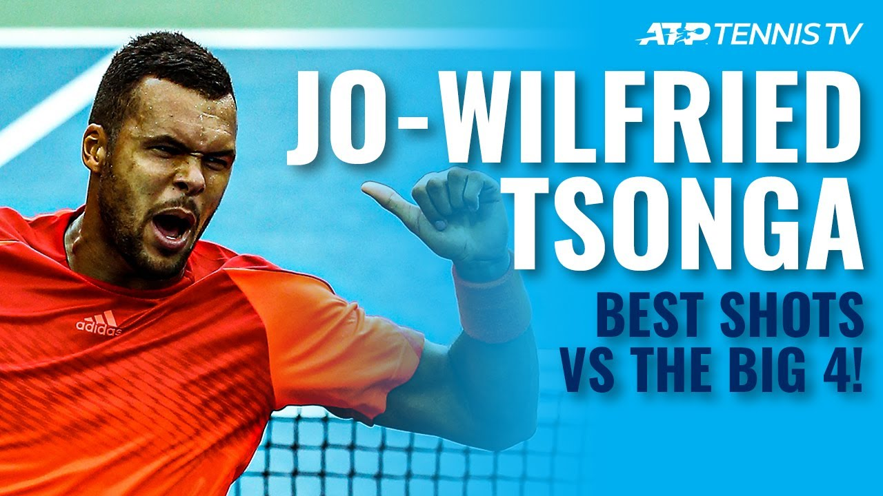 Jo-Wilfried Tsonga Best ATP Shots & Rallies vs The Big 4!