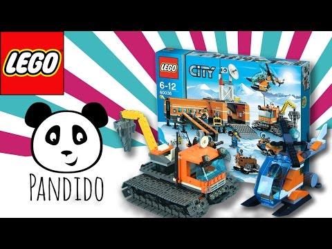 LEGO City deutsch - Arktis Basis Lager - Spielzeug ausgepackt & angespielt - Pandido TV