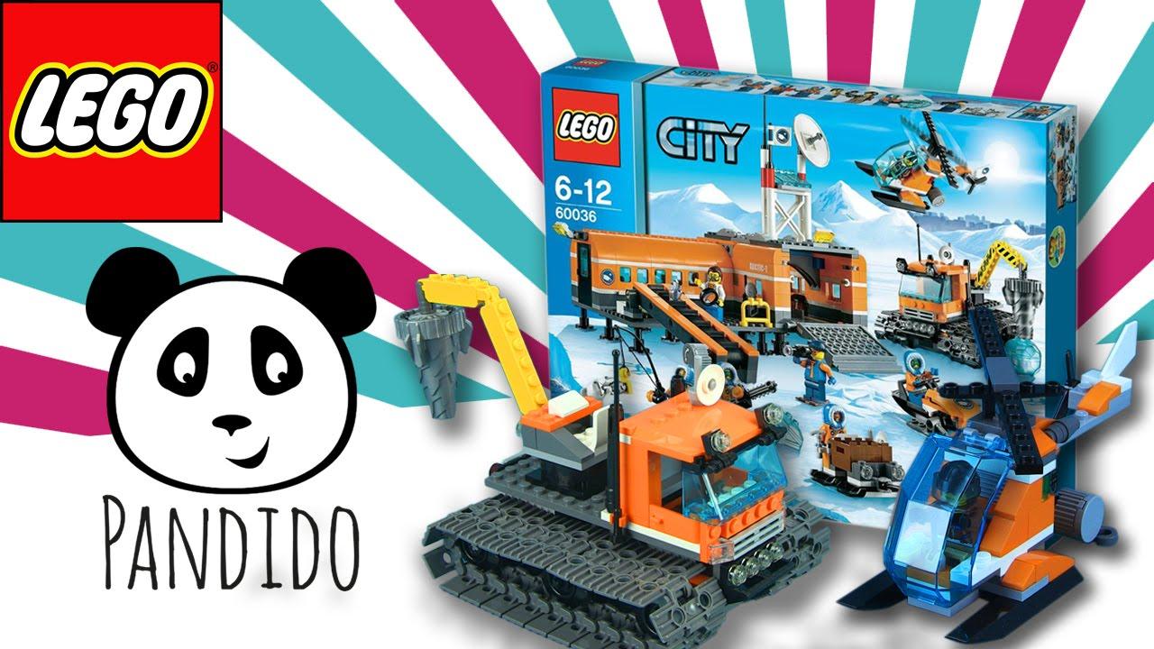 Lego City Deutsch Arktis Basis Lager Spielzeug Ausgepackt