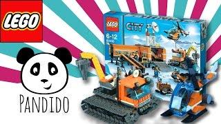 LEGO City deutsch - Arĸtis Basis Lager - Spielzeug ausgepackt & angespielt - Pandido TV