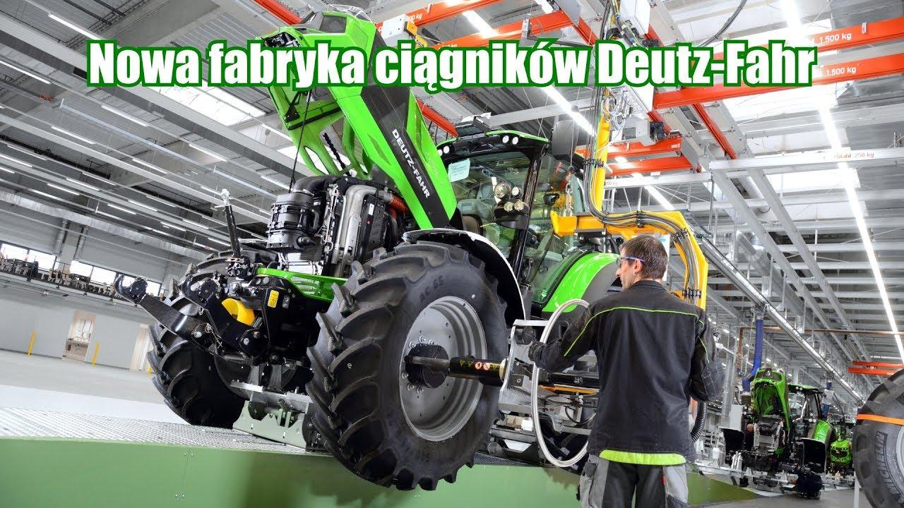 Nowa fabryka ciągników Deutz-Fahr