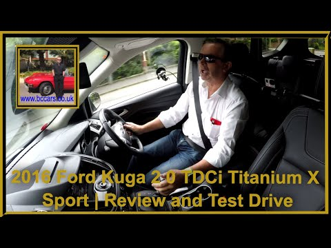 Review and Virtual Video Test Drive In Our Ford Kuga 2 0 TDCi Titanium X Sport 1