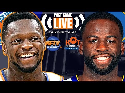 New York Knicks Vs. Golden State Warriors LIVE Play-By-Play, Analysis & Caller Reactions
