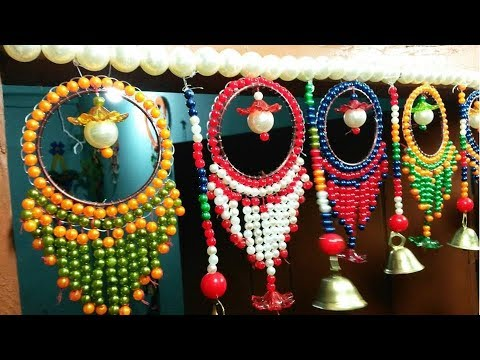 Wow Diy Amazing Beaded Door Wall Hanging How To Make A Beaded