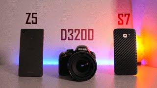 camera comparison galaxy s7 vs xperia z5 vs budget dslr