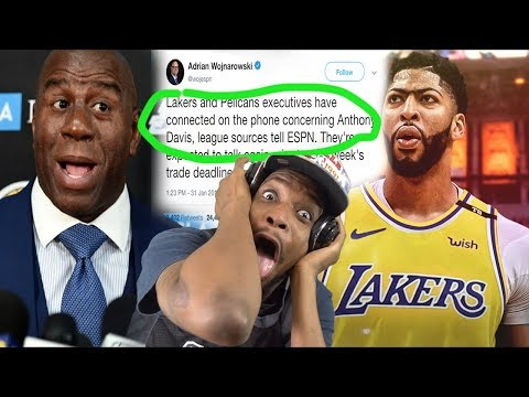 LEBRONS BACK AND DAVIS IS ON THE WAY! LAKERS vs CLIPPERS HIGHLIGHTS REACTION