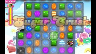 Candy Crush frog Level 607 ★★★ use only 5 moves (595,840 points)