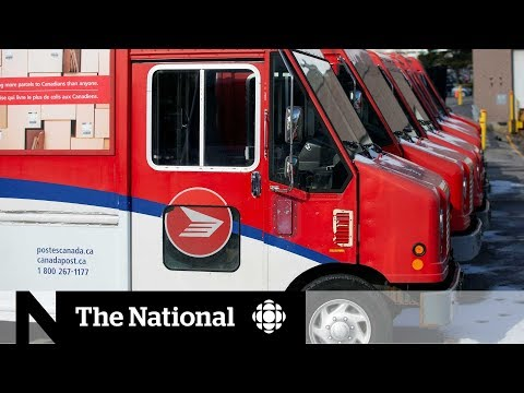 Liberals Table Back-to-work Bill For Canada Post Carriers