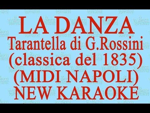 """Tarantella di Rossini """"La danza"""" - Luciano Pavarotti - new karaoke"""