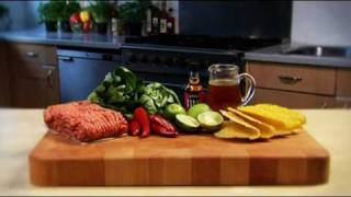 Lime & chilli beef tacos recipe