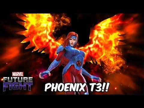 JEAN GREY TIER 3!! A REVELATION! FIRE & MIND?! - Marvel Future Fight