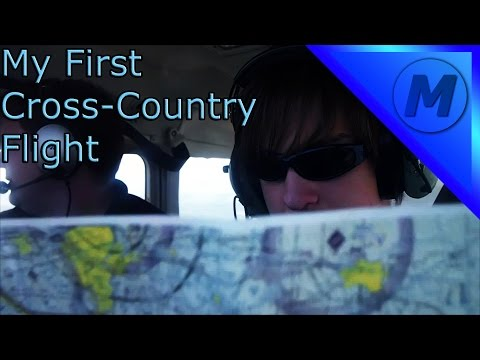 Flight: First Cross Country Flight | Fail Finding Airshow Area