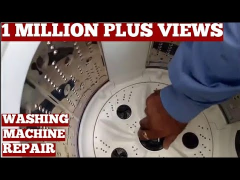 How To Repair Top Load Washing Machine Drain Problems At Home Video-Top Load Washer Repair