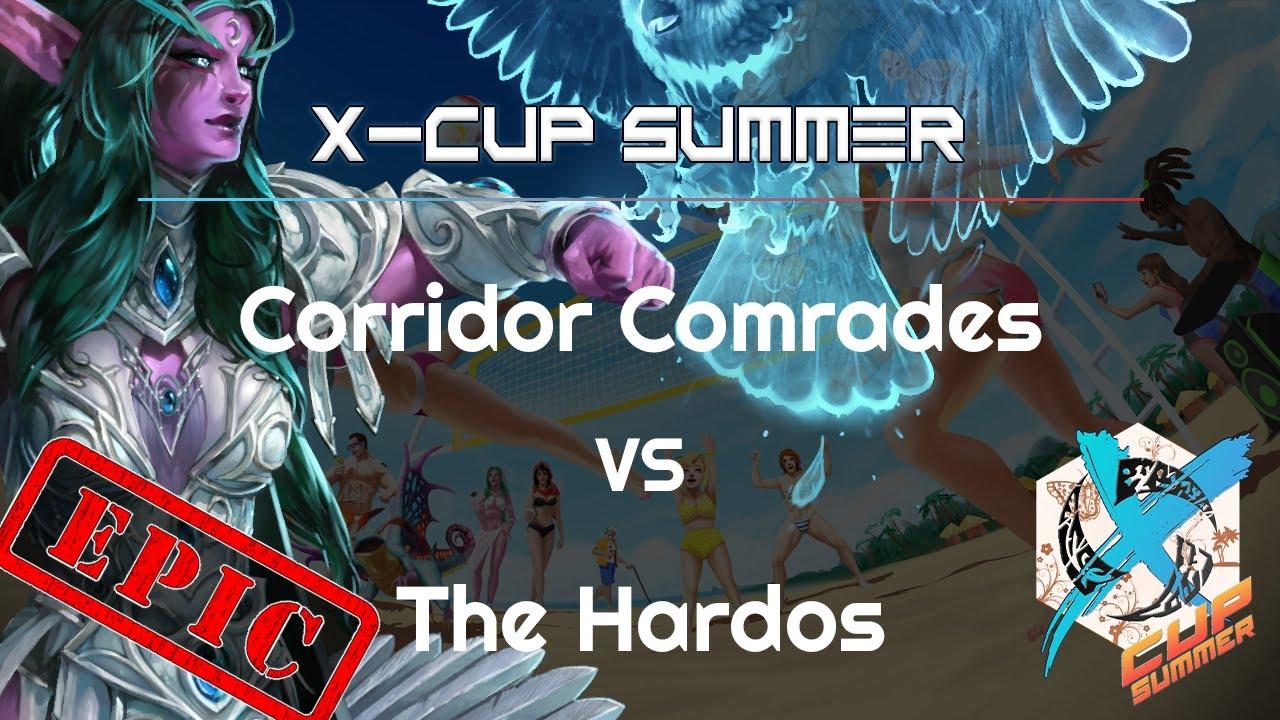 CComrades vs. Hardos - X Cup Q3 - Heroes of the Storm Tournament