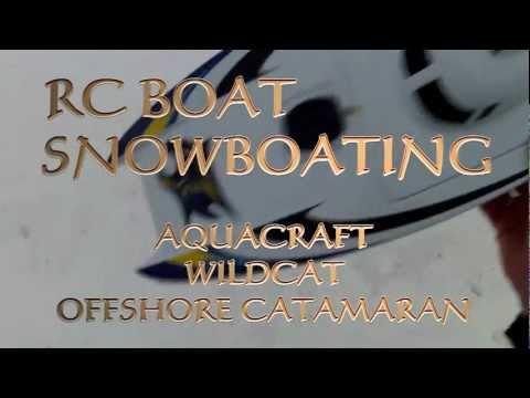 RC BOAT SNOW BOATING VOL#1