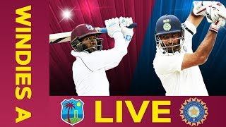 LIVE cricket between West Indies A and India A in Day 3 of the 2nd Test