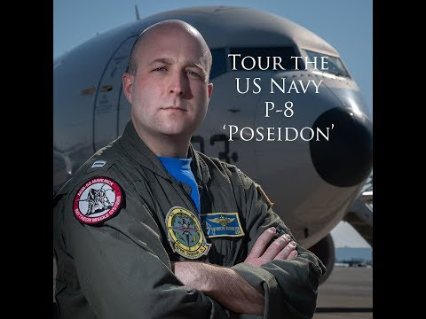 Welcome On Board A US NAVY P8 'POSEIDON' Patrol Aircraft