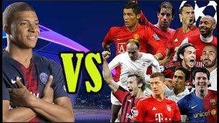 Mbappé Logrará Superar a Los Máximos Goleadores Históricos de la Champions League ?