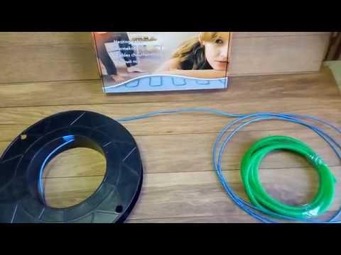 Millicabele Flex 15 Nexans- Тонкий двужильный греющий кабель  Nexans