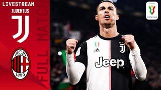 Juventus v Milan Full Match LIVE Coppa Italia Semi Final Serie A TIM