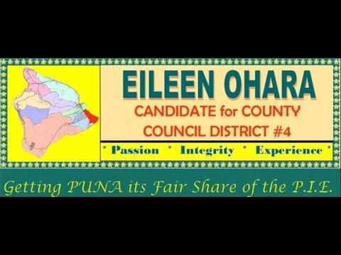 Na Leo O Hawaii Forum- Puna Election 2016
