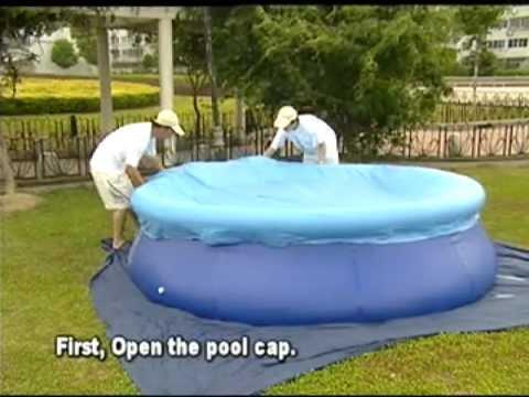 инструкция по установке надувного бассейна Bestway - фото 10
