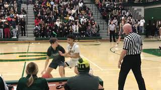 Highlights of Evergreen's 77-54 3A bidistrict win over Peninsula