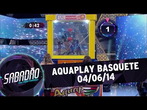 Aquaplay no Sabadão com Celso Portiolli