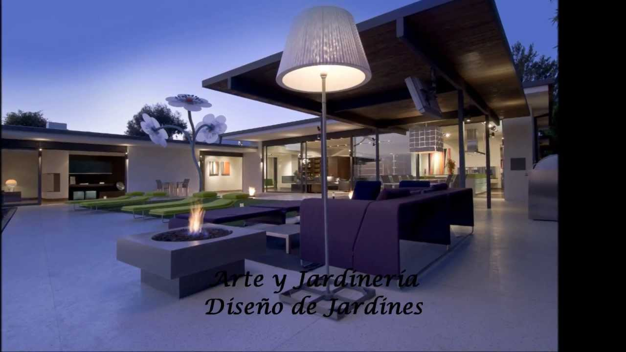 Dise o de jardines modernos 2 hd 3d arte y jardiner a for Diseno de jardines modernos con piscina