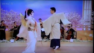 NHKEテレ「にほんの芸能」より 日本舞踊✖クラシック 立方 中村 梅 尾上...