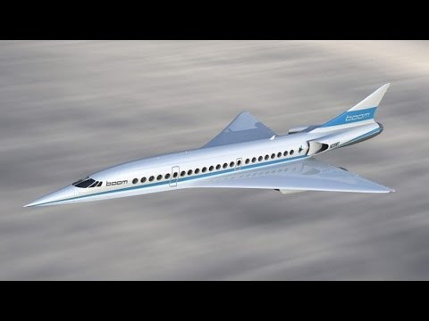 Boom Airplane: supersonic passenger coming in 2020.