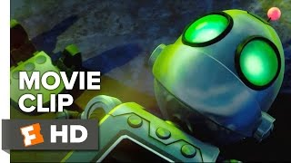 Ratchet & Clank Movie CLIP - Meet Clank (2016) - Sylvester Stallone Animated Movie HD