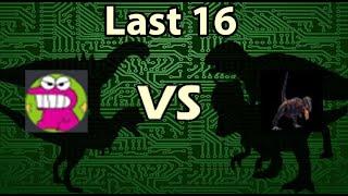 Dinosaur King Arcade Tournament 2020 - Last 16 - Joon vs Dino Gasmania