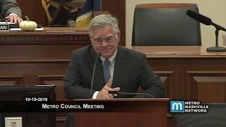 10/15/19 Metro Council Meeting