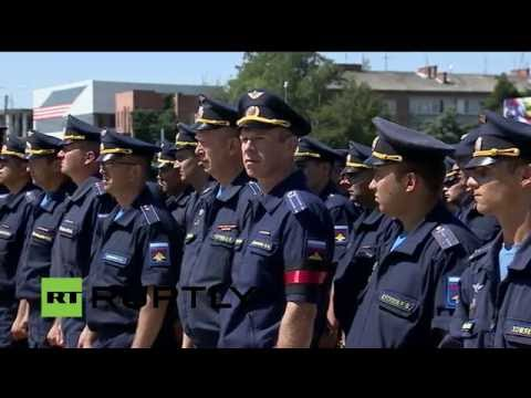 LIVE: Farewell ceremony for Russian military pilot Ryafagat Khabibullin takes place in Krasnodar