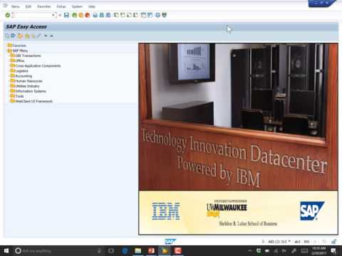 Lecture 13, ABAP Database Interaction, part 4