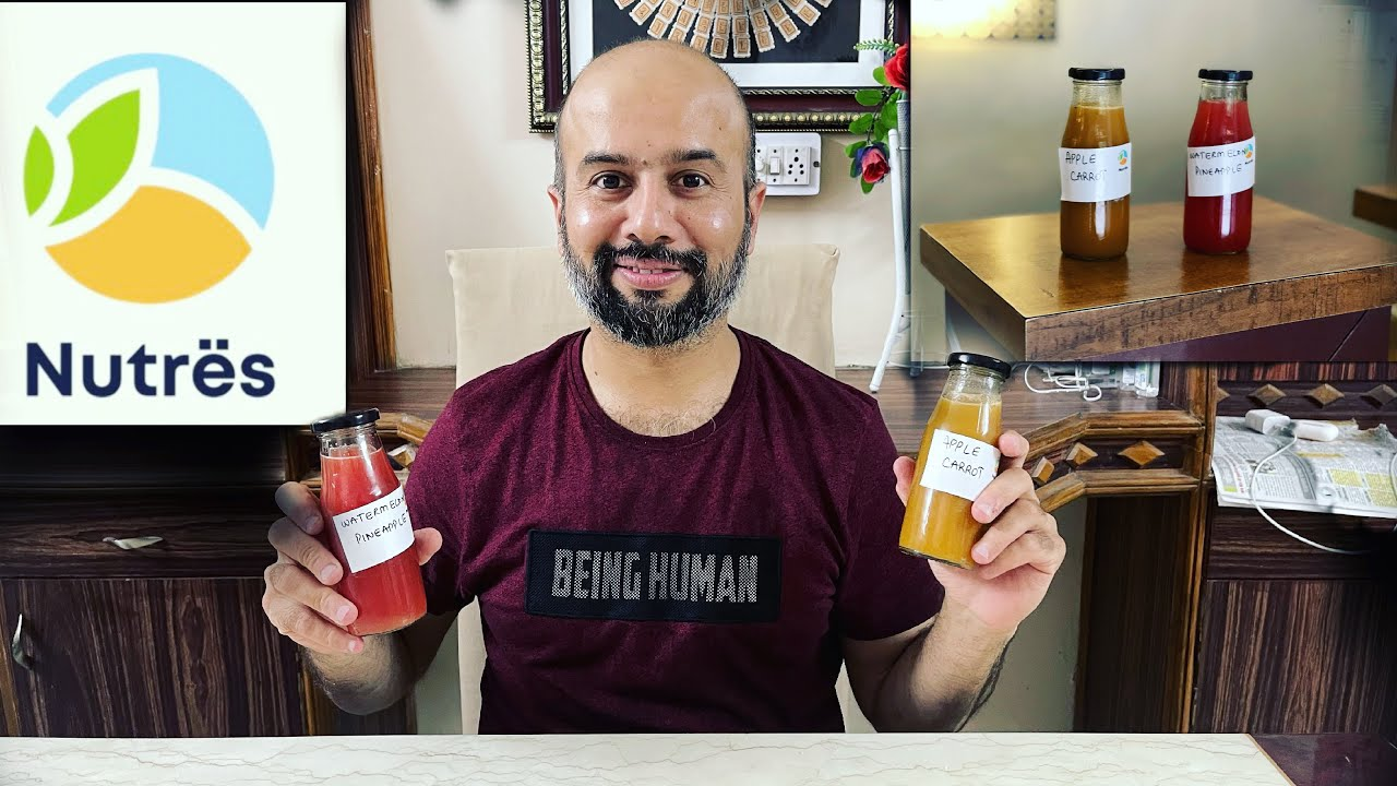 JODHPUR'S FIRST COLD PRESSED JUICE CENTRE | THE NUTRES | WHY COLD PRESSED JUICES ARE BEST