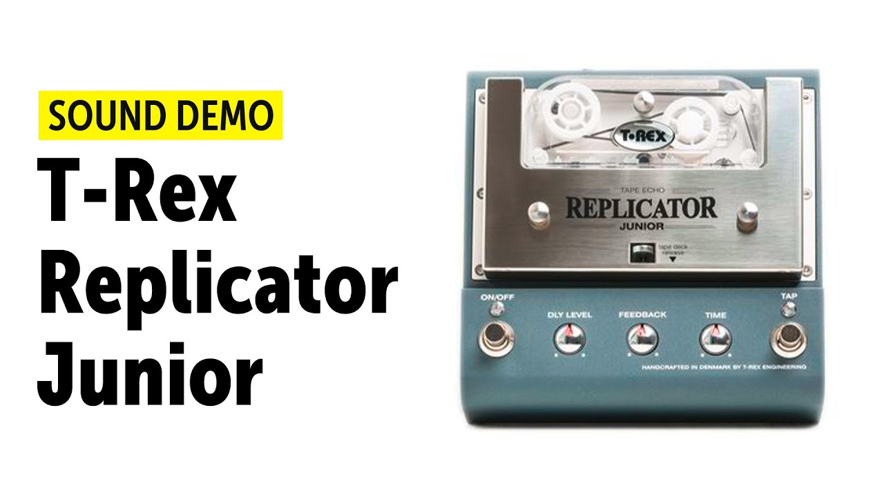 t rex replicator junior tape echo sound demo no talking youtube. Black Bedroom Furniture Sets. Home Design Ideas