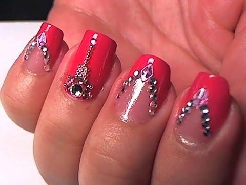 Glamorous Princess Nail Art