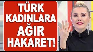 Türk kadınına hakaret eden Mehmet Akif Alakurt'a tepki yağıyor!