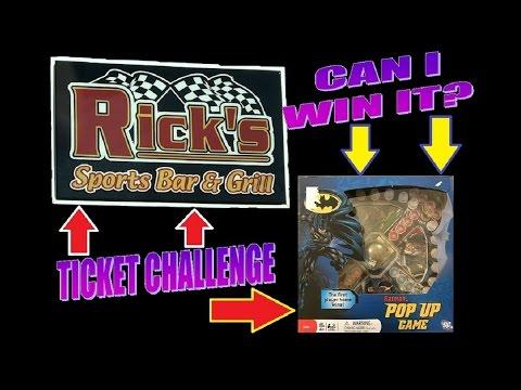 Ticket Challenge #2   Batman Game   Can I Win It?   JJGeneral1   Arcade Jackpot Prize Hub Redemption