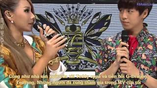 tasvietsub cl   the baddest female sbs inkigayo interview 130602