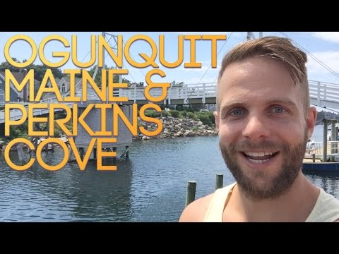 Ogunquit Maine and Perkins Cove - Traveling Tom